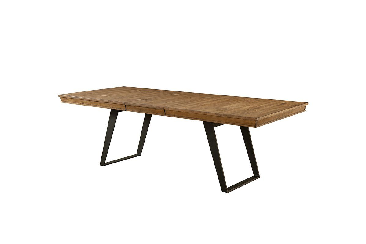 Lemay Modern Live Edge Solid Wood Dining Table Live Edge Wood