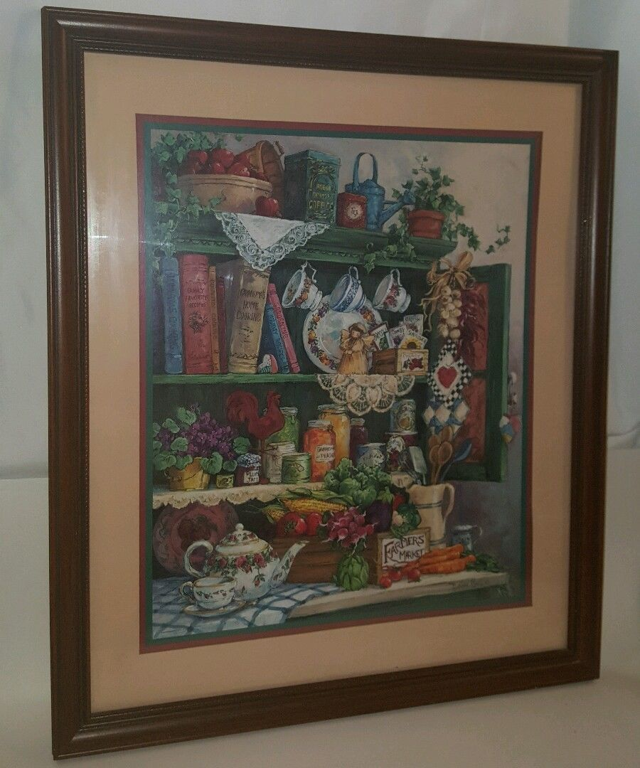 Home Interiors And Gifts Tiger Picture   PeepsBurgh