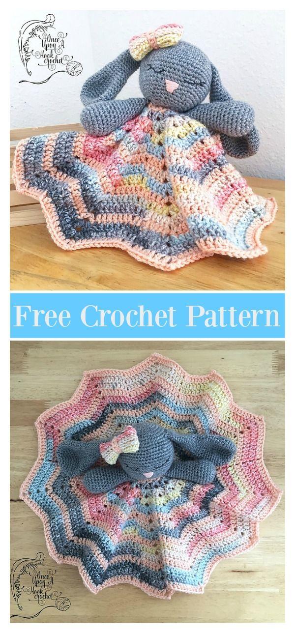 Amigurumi Baby Blanket Bunny Crochet Free Pattern | crochê ...