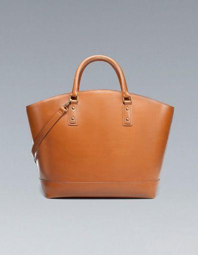 053db322ef79 My dream simple cognac leather bag. (Zara