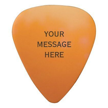 orange ombre sunset template guitar pick template gifts custom diy