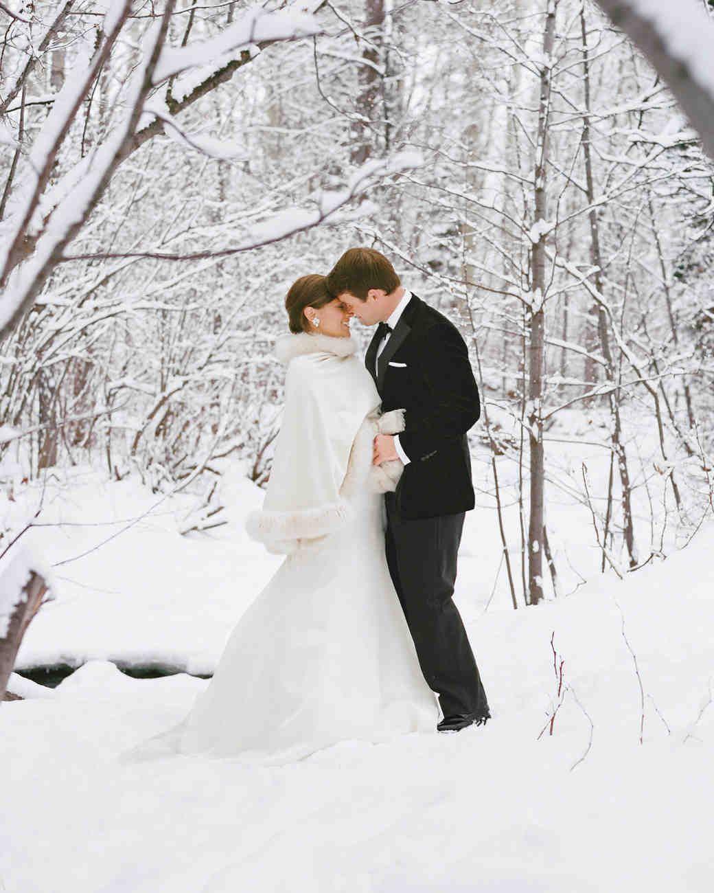 Trendy Velvet Accessories To Wear A Winter Wedding