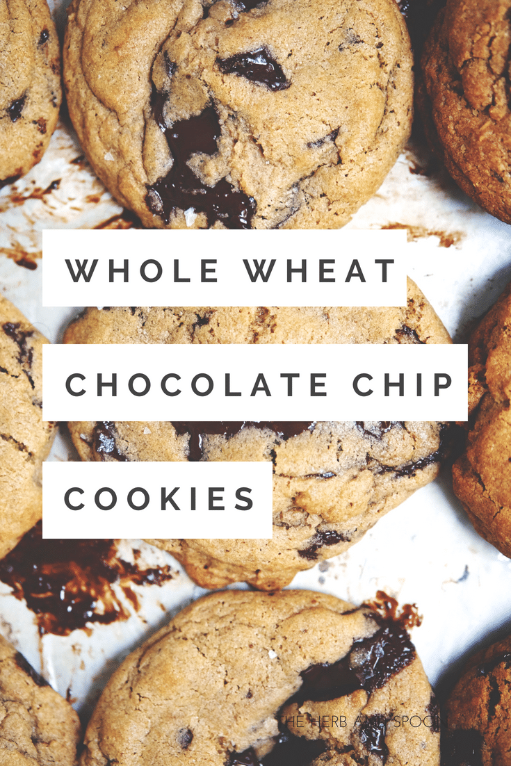 Whole Wheat Chocolate Chip Cookies Healthy Chocolate Chip Cookies Chip Cookies
