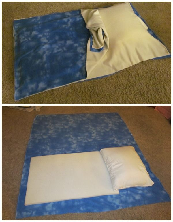 DIY Baby Pillowcase Sleeping Bag Patterns And Tutorial Video