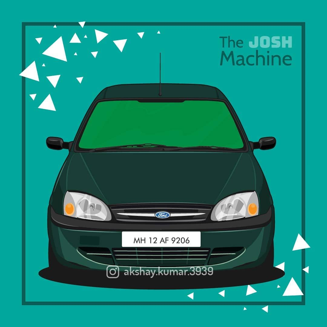 Feel The Josh Another 90s Car Completed Ford Fordikon