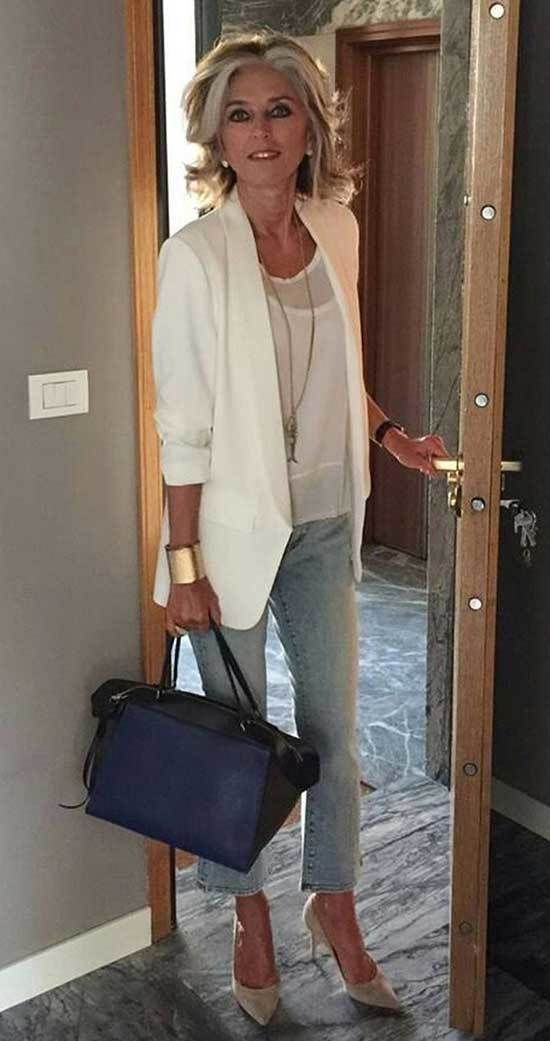 Casual Outfit For 50 Year Old Woman 2019 Stylish Outfits For Women Over 50 Clothes For Women Over 50 Fashion Over 50
