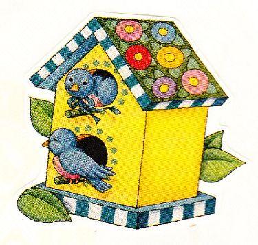 Bluebird house.