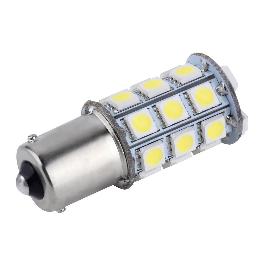New White T25 S25 1156 Led Bay 15d White Smd Led Car Auto Tail Brake Stop Signal Parking Lights Bulb 12v Hot Selling In Light Source From Autom Lights Bulb Car