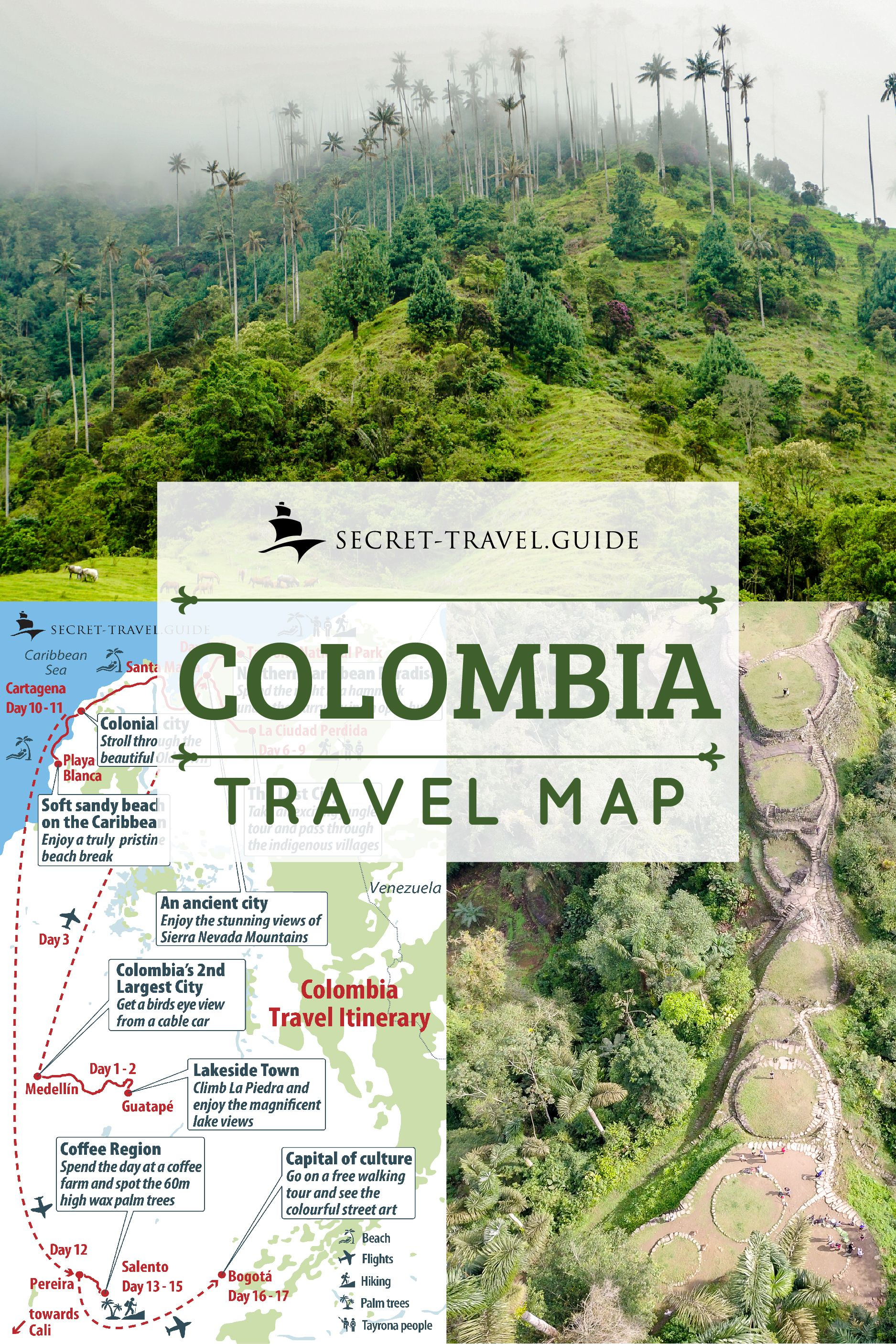 Colombia Travel Guide Secret Travel Guide Colombia Travel Colombia Travel Guide Travel
