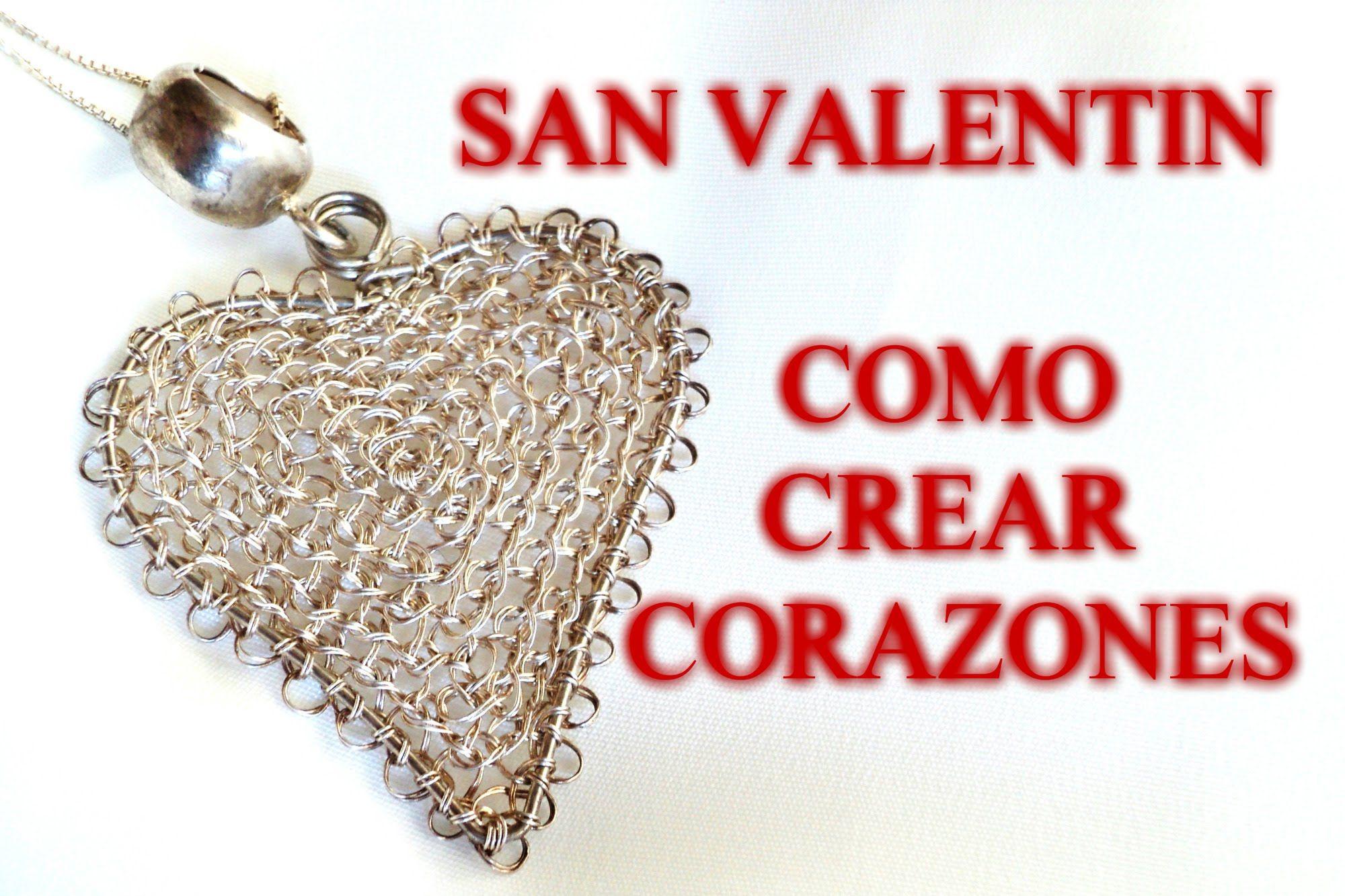 Como Hacer Colgantes con Forma de Corazon en Punto Peruano   PERLICE ...