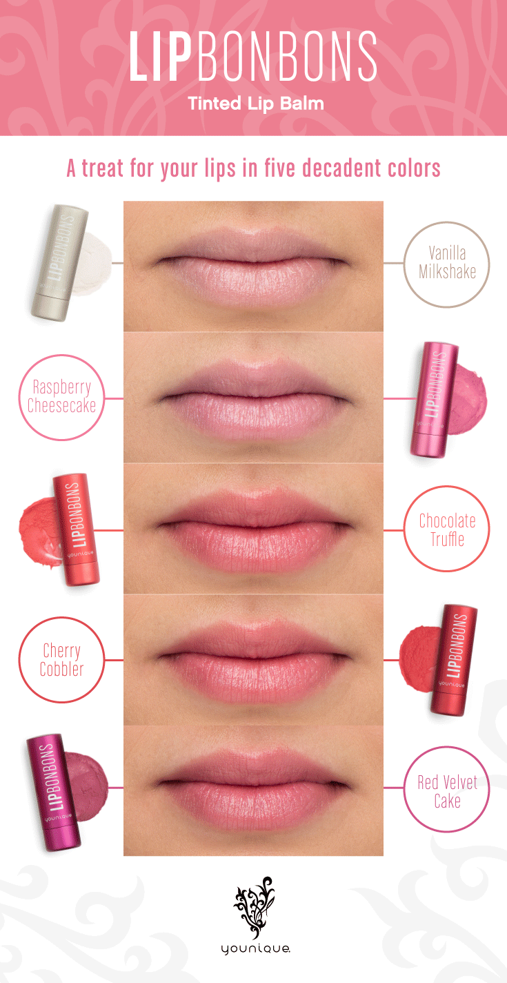 meet lip bonbons our new tinted lip balm treats
