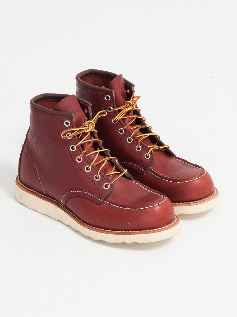 381f4a5882f Red Wing 9106 MOC TOE BOOT The 9106 is modeled after the original 875 work  boot