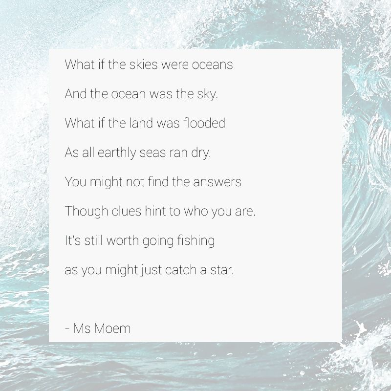 Fishing for stars a poem ms moem poems life etc for The fish poem