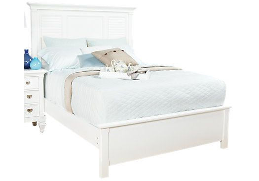 Belmar White 3 Pc Queen Bed [home] in 2019 White queen