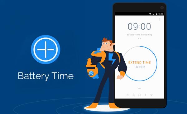 Otimizador de tempo de bateria, Prolongue o tempo de duração de sua bateria e faça com que ela dure mais tempo entre suas recargas.