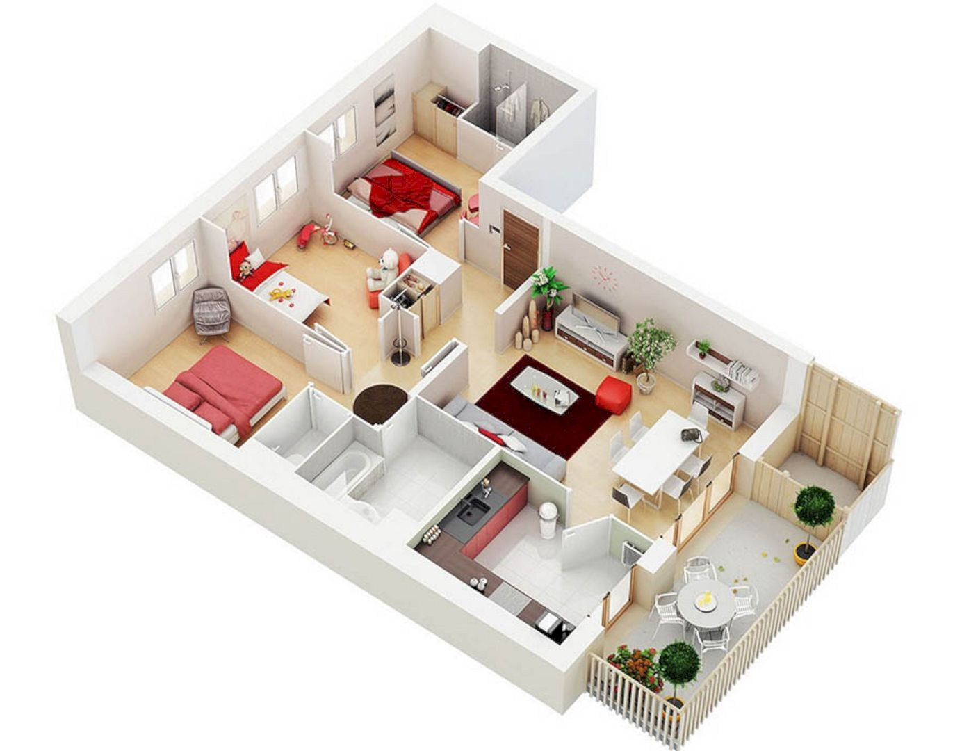 Why Do We Need 3d House Plan Before Starting The Project Home Design Plans Apartment Floor Plans House Floor Plans