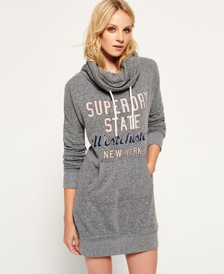 Superdry Robe Sweat Westchester Gris Fonce Sweat Dress Girls Fashion Tween Dresses