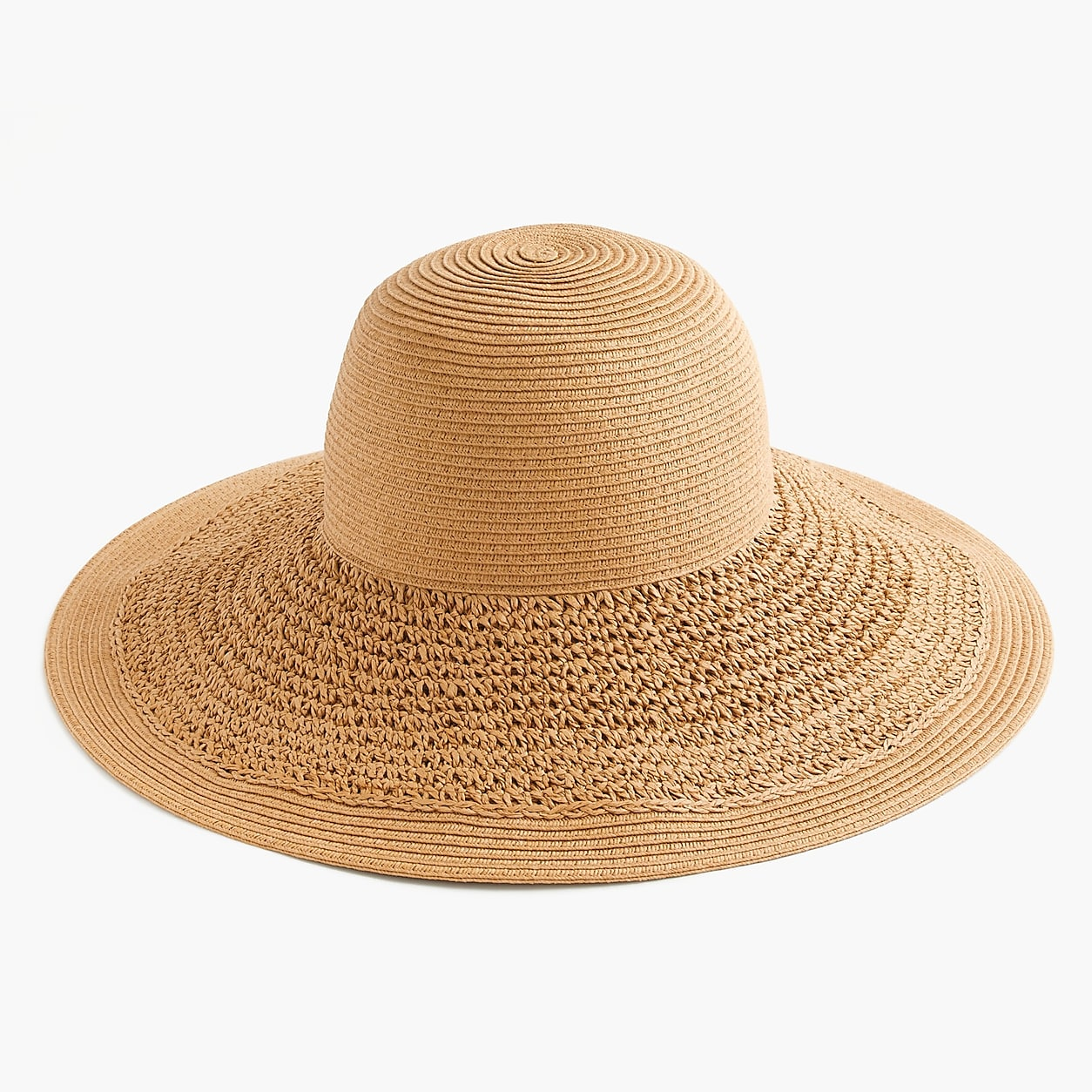 6c19baa2e84 Textured Summer Straw Hat