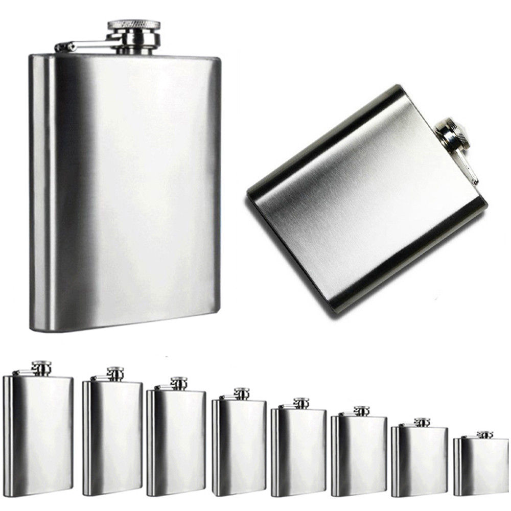High Quality Hip Flask Set 7 Oz Stainless Steel Creative Alcohol Pocket Flagon