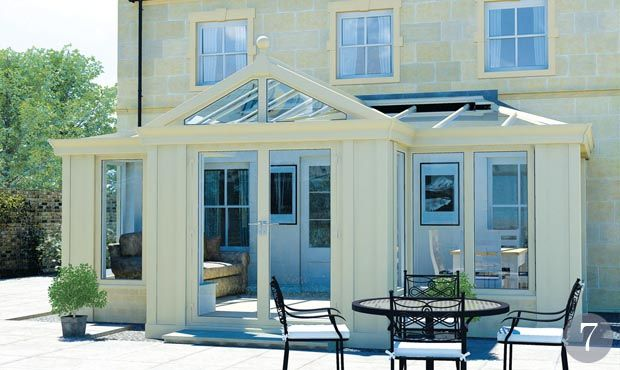 Loggia conservatory from Ultraframe Conservatories