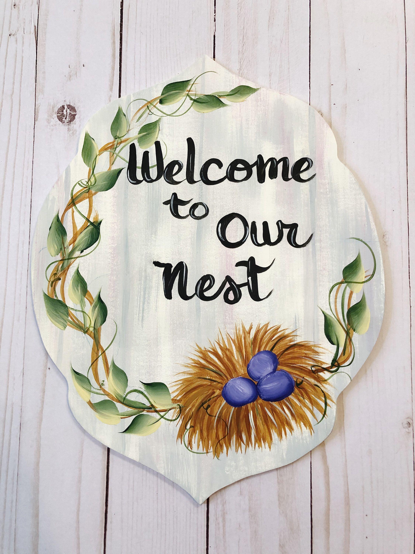 colorful hello sign hello wreath attachment hello wreath sign Wreath attachment Summer wreath sign Wreath sign