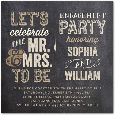 engagement party invitation DIY printable invitation engaged – Vintage Engagement Party Invitations