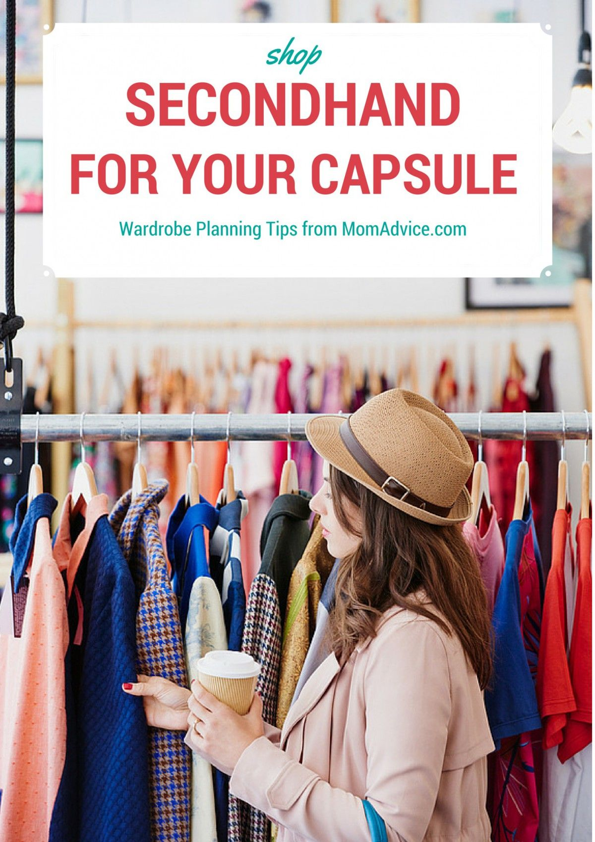 How To Shop Secondhand For Your Fashion Capsule Wardrobe