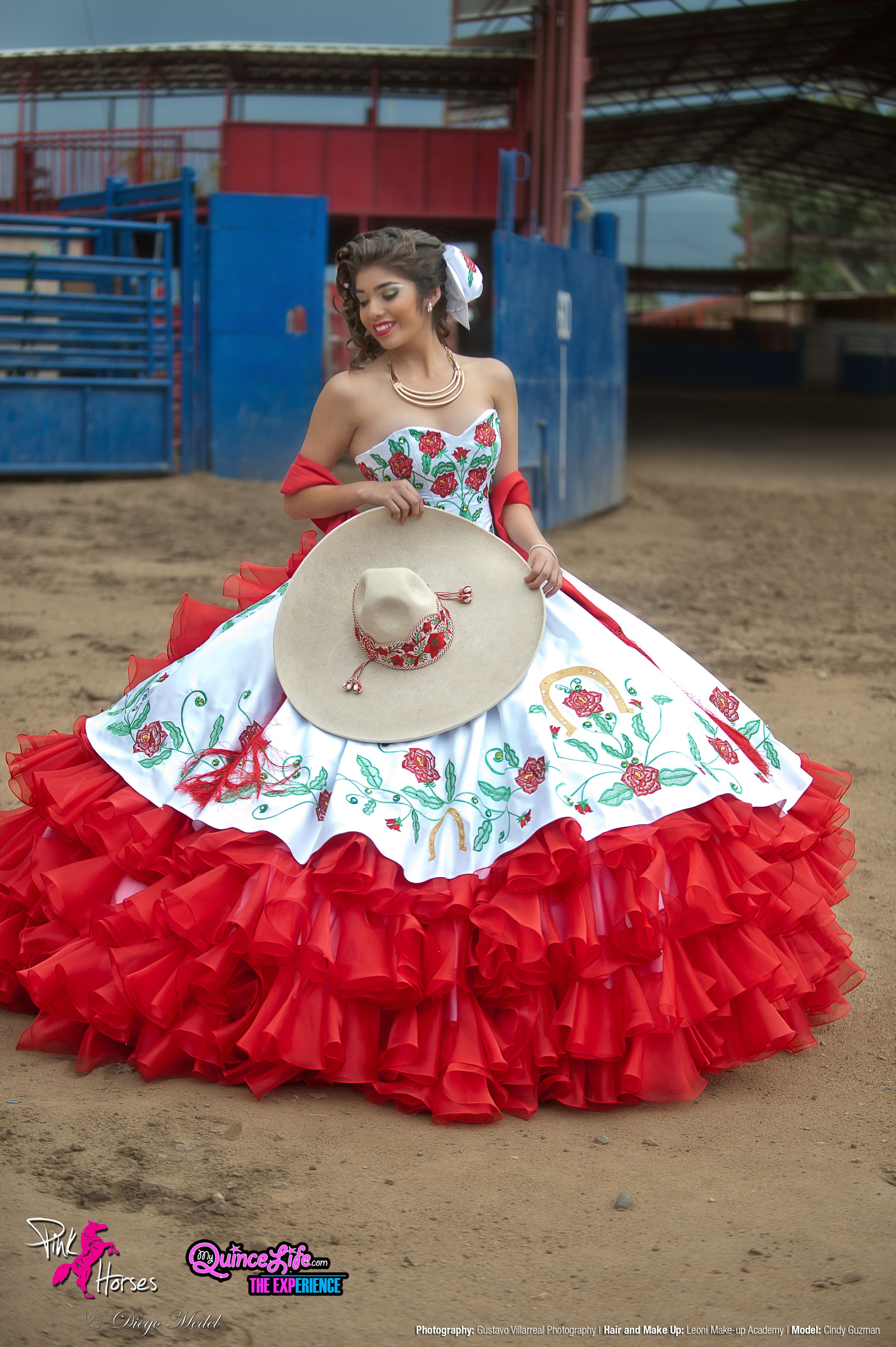 Quinceanera dresses mariachi style shirts