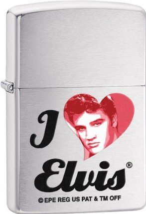 Zippo Elvis, Brushed Chrome by Zippo. $20.00. Zippo Elvis, Brushed Chrome Weight: 0.15lbs