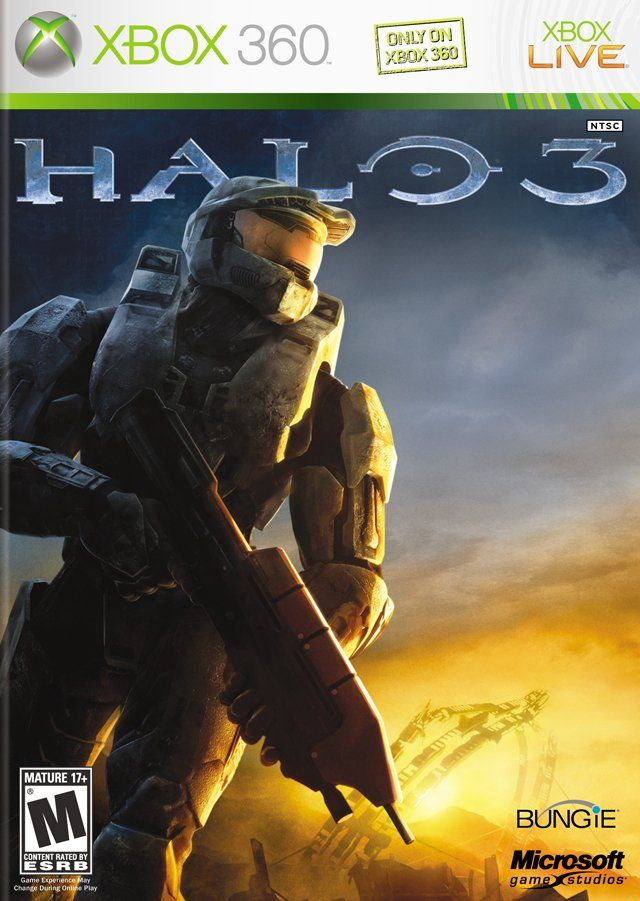 Google Image Result For Http Firsthour Net Screenshots Halo 3 Halo 3 Cover Jpg Halo Game Xbox 360 Games Halo 3