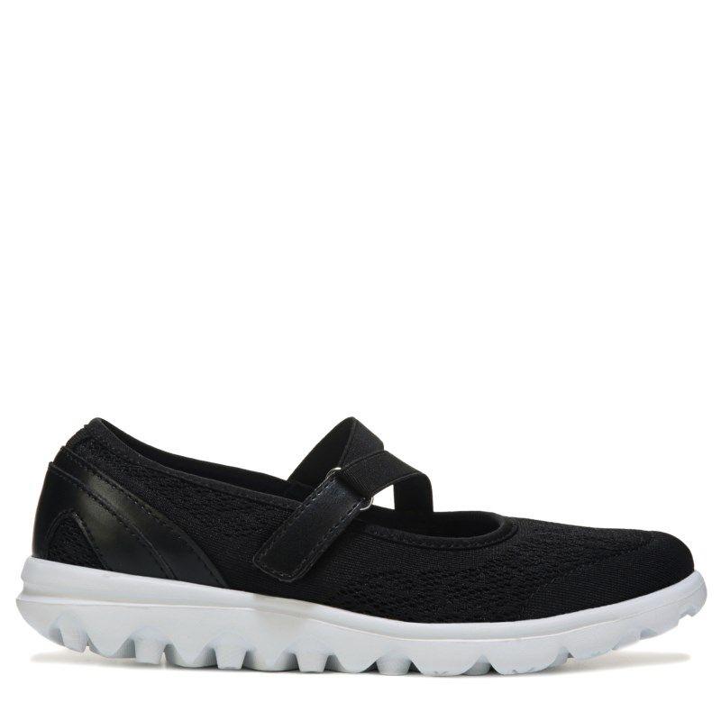 9e3c61a82dec Propet Women s Travelactiv Narrow Medium Wide Mary Jane Shoes (Black) -  11.0 2E