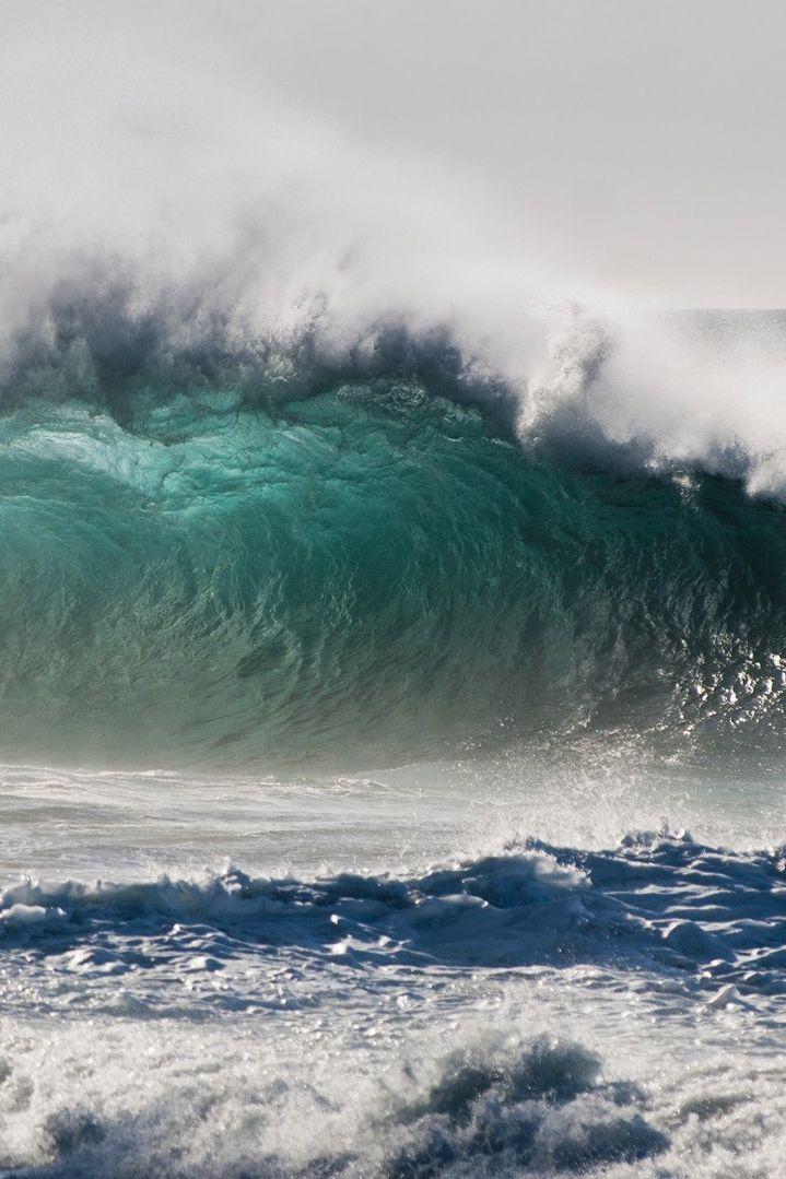 ♂ Amazing nature ocean wave