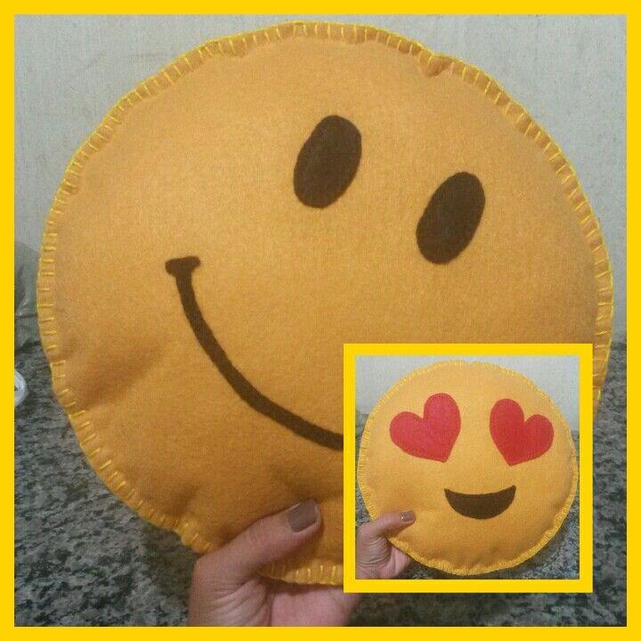 Feito a mão! Dois lados: smile/ in love ♡☆