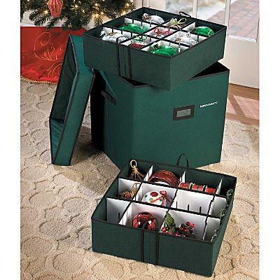 Large Adjustable Ornament Storage Box Ornament storage box