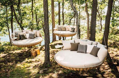 swingrest - like floating pods of joy...