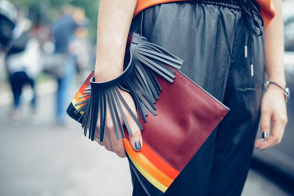 Best Street Style Shoes and Bags at Fashion Week Spring 2015 | POPSUGAR Fashion