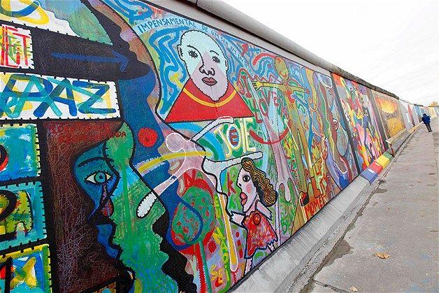 The Berlin Wall East Side Gallery East Side Gallery Berlin Wall Street Art Graffiti