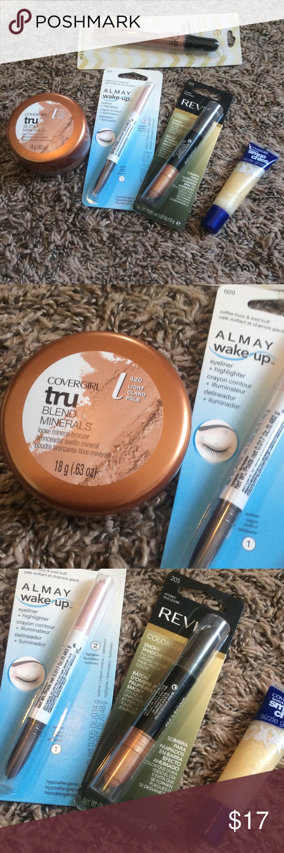 Drugstore makeup bundle💝 Covergirl Tru blend minerals