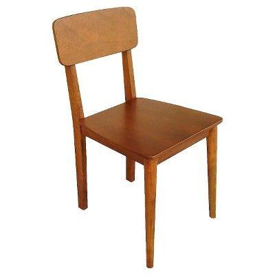 Porter Mid Century Modern Wood Dining Chair - Brown (Set ...
