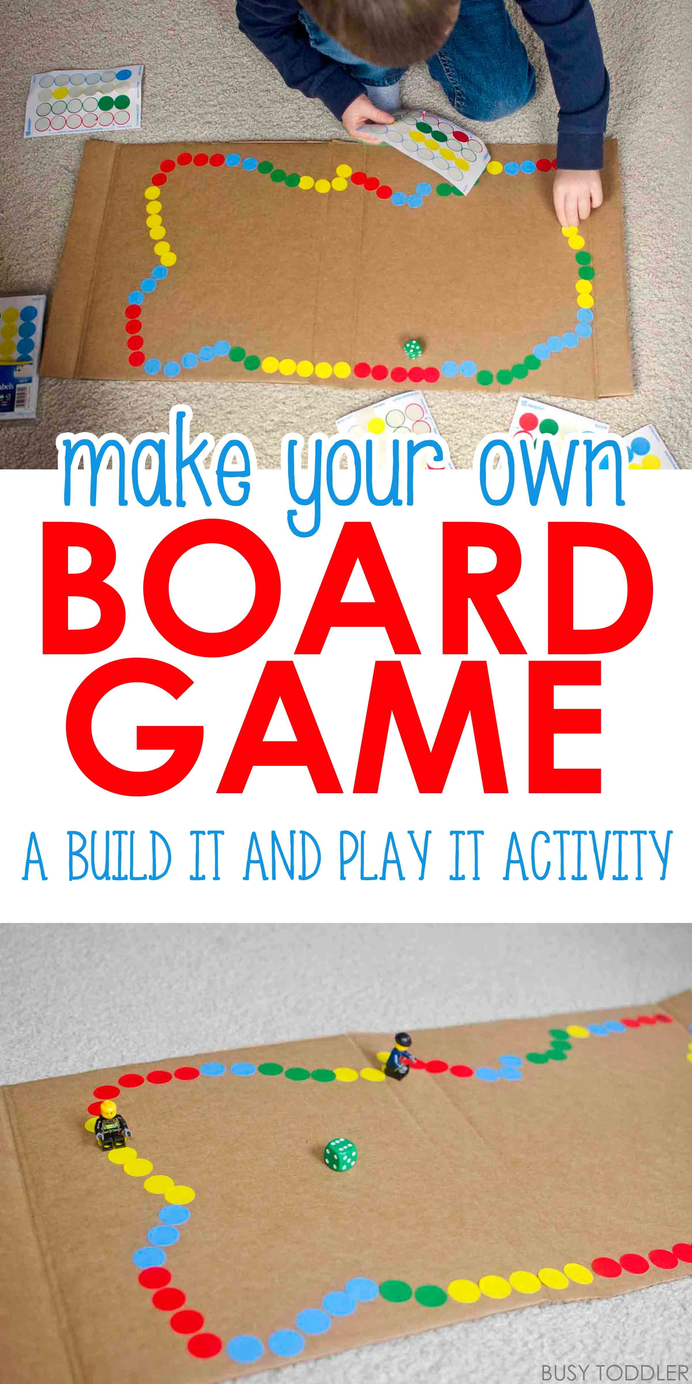 Diy Board Game Check Out This Awesome Make Your Own Board Game