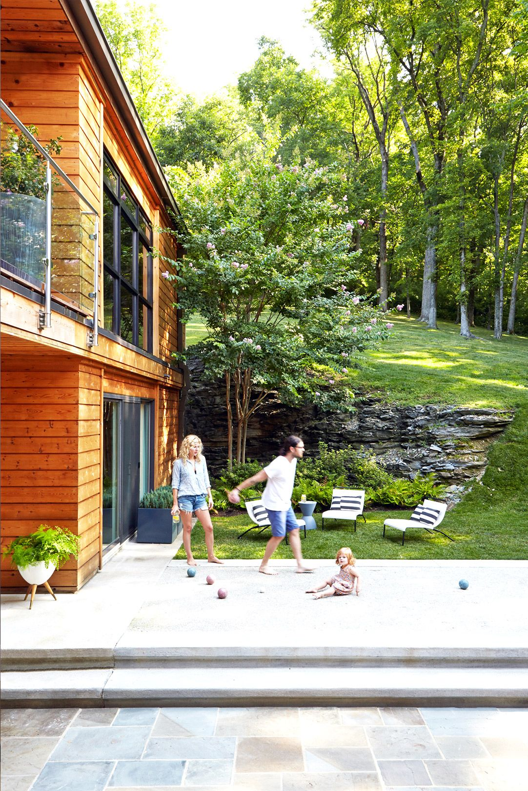 backyard bocce courts jessie outdoor spaces and spaces