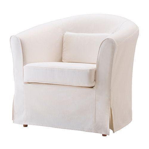 arm chair covers ebay baby high wood new ikea ektorp tullsta blekinge white armchair cover slipcovers