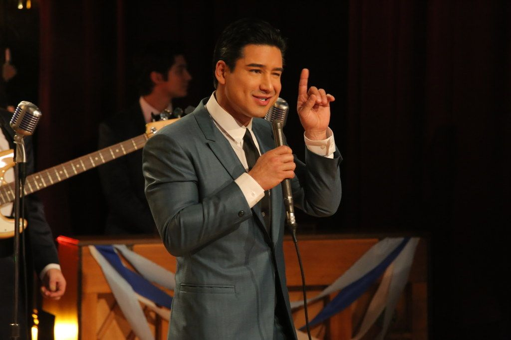 mario lopez in grease live