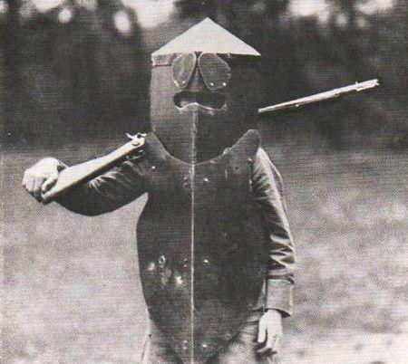 Foto na História: Armadura da Primeira Guerra Mundial