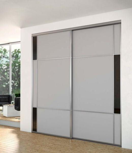 Porte placard iliko porte de placard coulissante - Porte de placard optimum ...