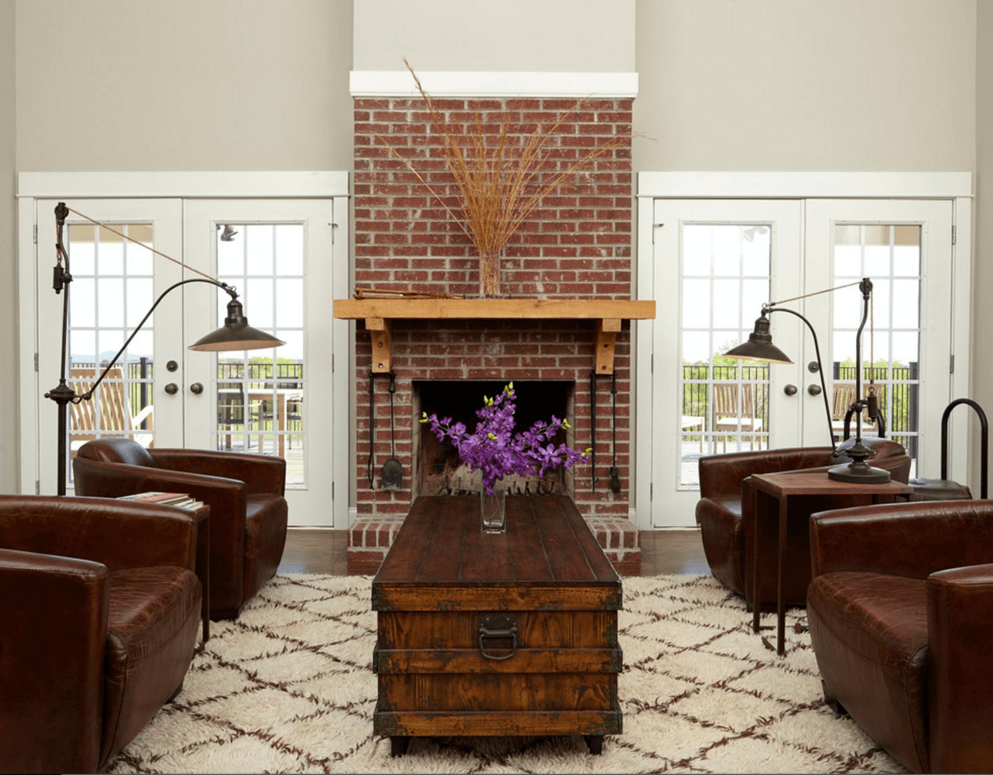 Mantel Decorating Ideas Red Brick Fireplaces Painted Brick Fireplaces Fireplace Mantel Decor