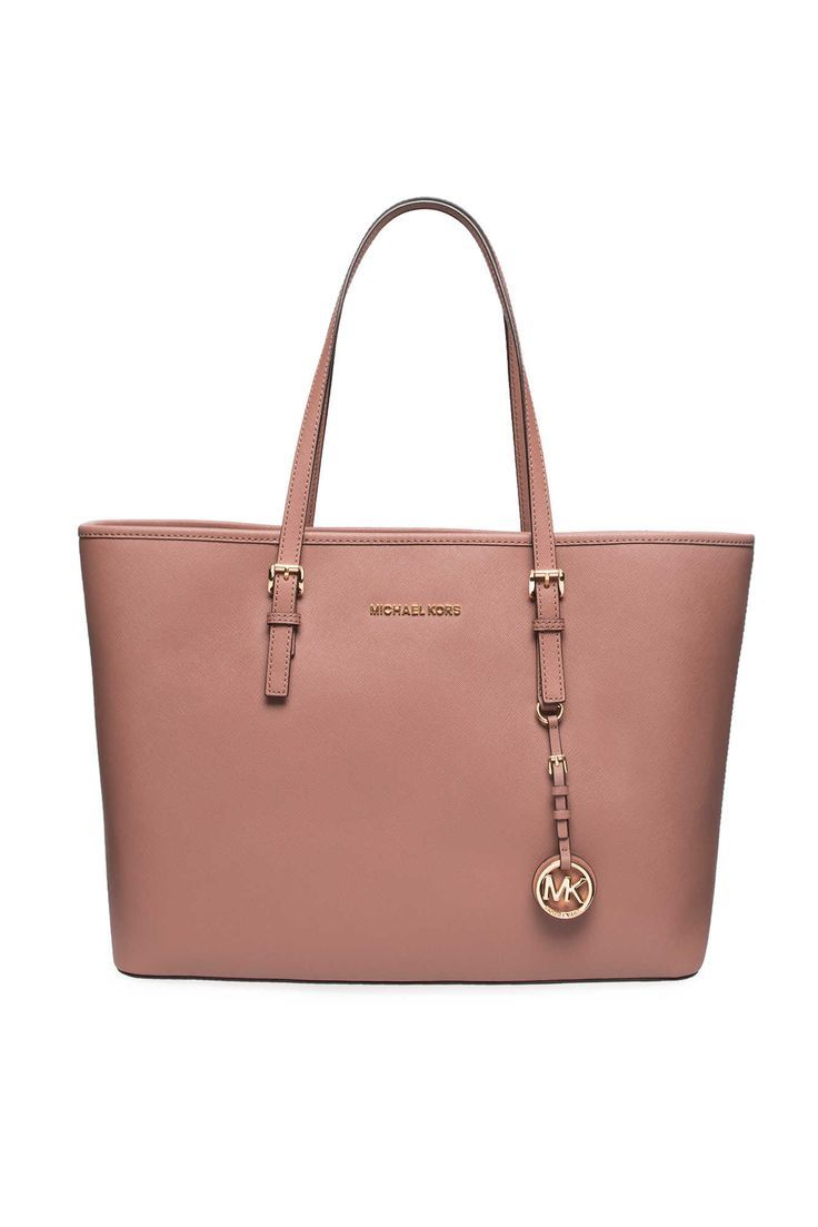 52c16c6cd5b7d5 Väska Jet Set Travel MD Mult Funt Tote DUSTY ROSE/GOLD - Michael - Michael  Kors - Designers - Raglady