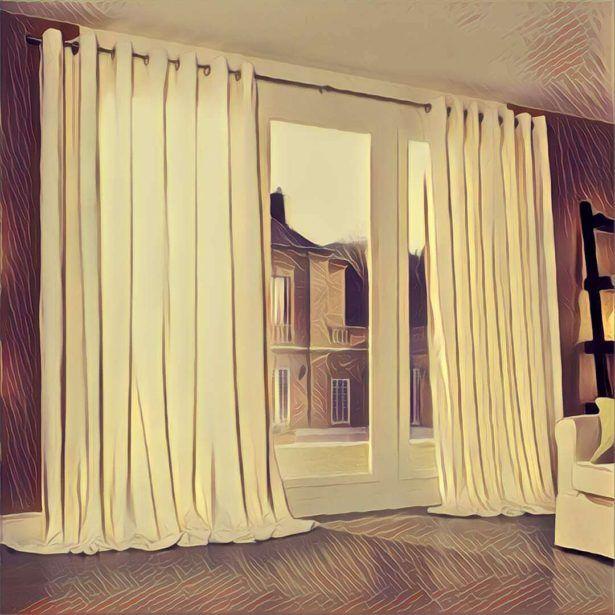 Schwarze Und Silberne Vorhänge Vorhang Traum Deutung