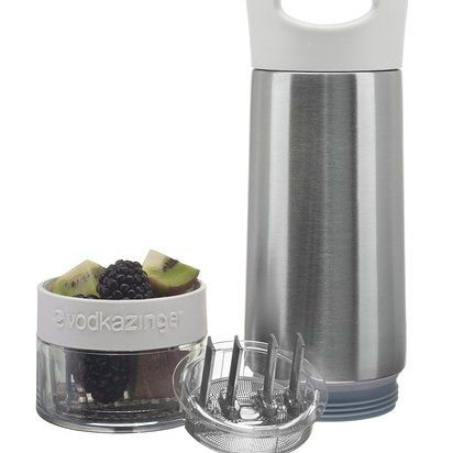 This flavored vodka infuser bottle. | 27 Lazyish Products You Need If You're Almost An Adult