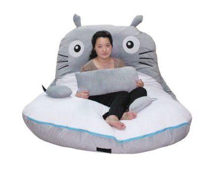 Best Amazon Com Cheap Price 300 175Cm Huge Cute Cartoon Totoro Double Bed Sleeping Bag Pad Sofa 400 x 300